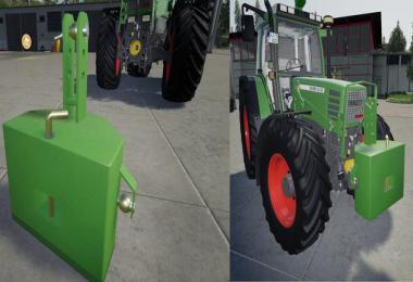 800KG steel weight v1.1.0