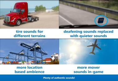 Sound Fixes Pack v19.40.1 ETS2 1.36