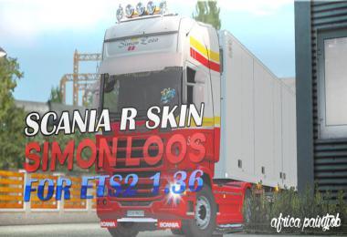 Africa Paintjob - Skin - Simon Loos - ETS2 1.36