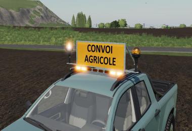 Agricultural Convoy Panel v1.0.0.0
