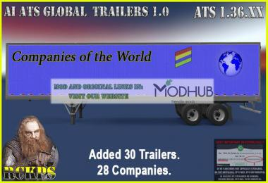 AI ATS Global Trailes Rckps v1.0 For 1.36.x