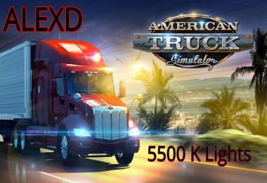 ALEXD 5500 K Lights ATS v1.4