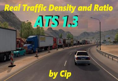 ATS Real Traffic Density and Ratio 1.36.c