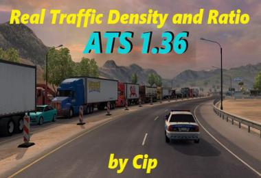 [ATS] Real Traffic Density v1.36b by Cip