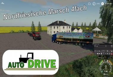 AutoDrive route network NF March 4-way with trenches v1.1