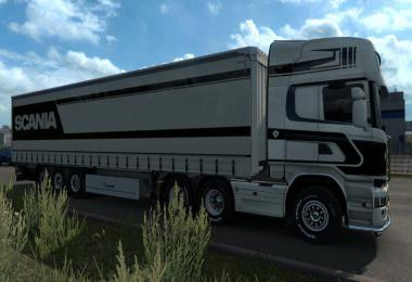 Black and White Scania Streamline Topline v1.0