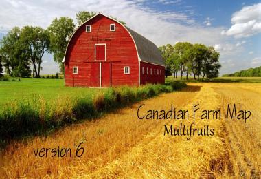 Canadian Farm Map v6.0