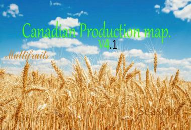Canadian Production Map v4.1