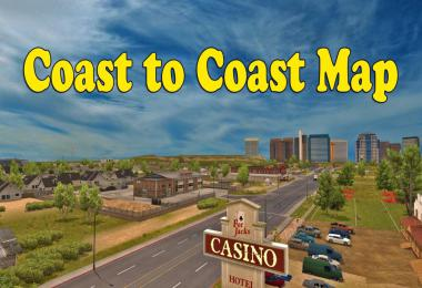 Coast to Coast Map - v2.10