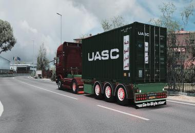 Container Trailer by Rhino3D v1.2