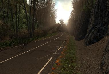 Cracked Roads Mod Autumn Edition v1.0