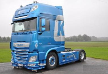DAF XF Open Pipe Sound v12