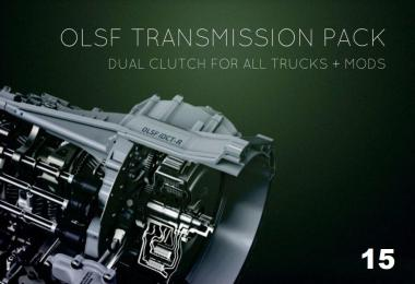 Dual Clutch Transmission Pack 15 for all Trucks by OLSF 1.36.x