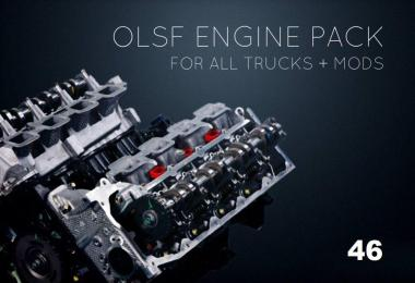 Engines Pack 46 for all Trucks by OLSF 1.36.x