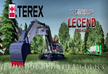 EXCAVATOR TEREX RH90F DIRTH v1.5