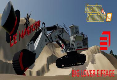 Excavatrice 9800 BIG LOVER v1.2.0.0