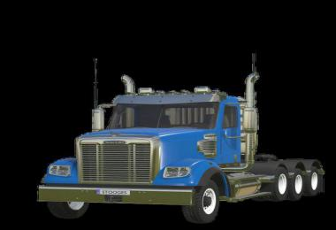FS19 FreightLiner 122SD v1.0