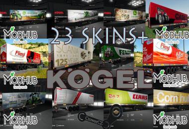 KOGEL AUTOLOADER PACK TRAILERS 23+ SKINS v1.0