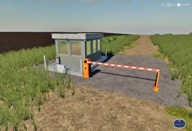 Placeable Security Booth With Barrier v1.0