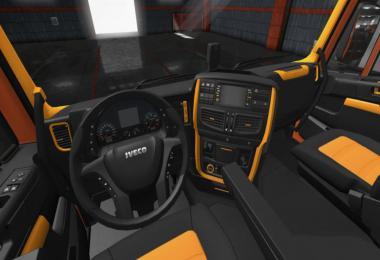 Iveco Hi-Way Black - Orange Interior 1.36.x