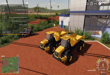JCB 718 / 722 dumpers pack v0.1