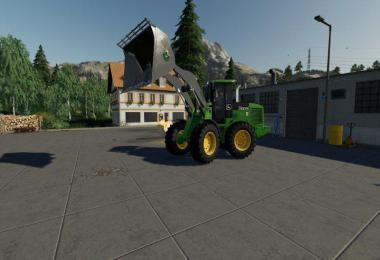 John Deere 524K Wheel Loader & Shovel v1.0.0.0