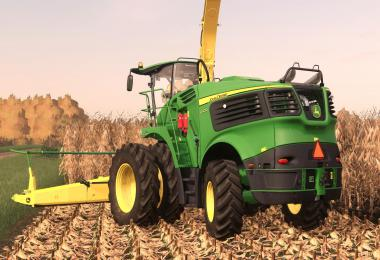 John Deere 9000 US Forage Harvestor v1.0