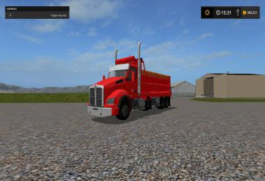 Kenworth t880 dump truck v3 fixed v1.0.0.2