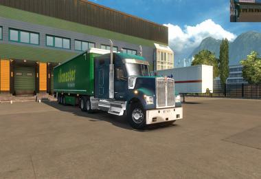 Kenworth W990 ETS2 v2 1.35-1.36