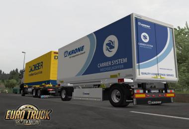 Krone Boxcarrier 4 Chassis Variant 1.36.x
