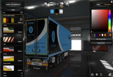 Krone Paintable Trailer 1.36.x