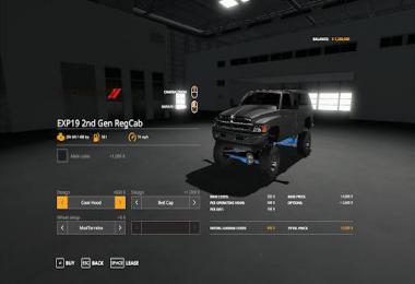 Lifted 2nd Gen Dodge Ram 1500 v0.1