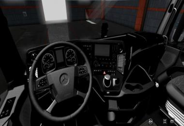 Mercedes MP4 Full Black Interior 1.36.x
