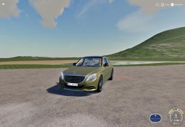 Mercedes S63 FS19 v1.0
