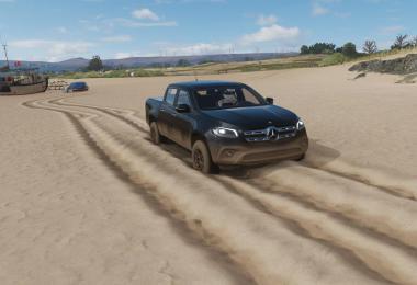 New Mercedes x-class fs19 v1.0