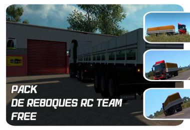 PACK DE REBOQUES FREE RC TEAM v1.8