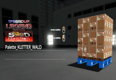 PALETTE de marchandises KLETTER WALD v1.5