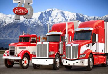 Real Engine Sounds For SCS Peterbilt Trucks v2.0