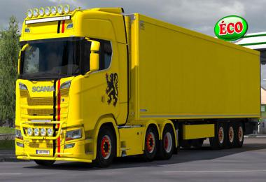 Scania R/S V8 Crackle Sound Mod 1.35.x