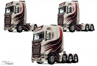 Scania S MT Design skin v1.0