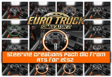 Steering Creations Pack dlc from ATS for Ets2 1.36