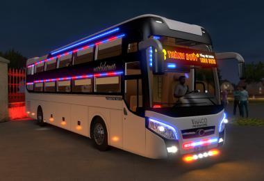 Vietnamese Bus ThacoMobihome 2018 1.35 - 1.36