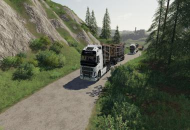 Volvo Fh16 Woodchip and trailer v1.0.0.0
