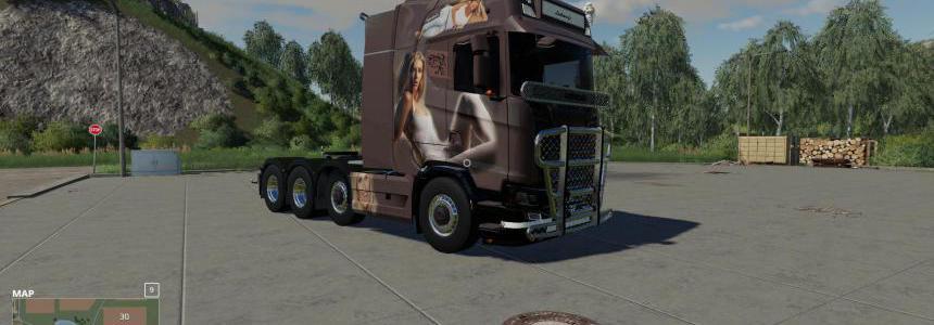 Scania. N drag  pernilla v1.1