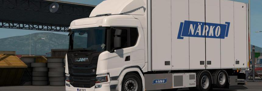 Rigid Chassis Addon for Eugene's Scania NG by Kast v1.2.1