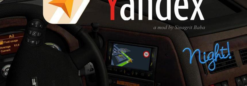 Yandex Navigator Night Version v1.2