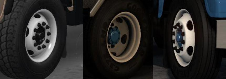 Smarty Wheels Pack ETS2 v1.3.2 1.35+