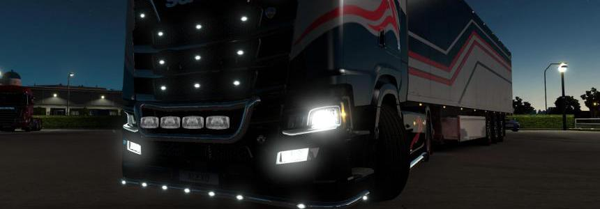 ALEXD FOG LIGHT FOR SCANIA S & R 2016 v1.2