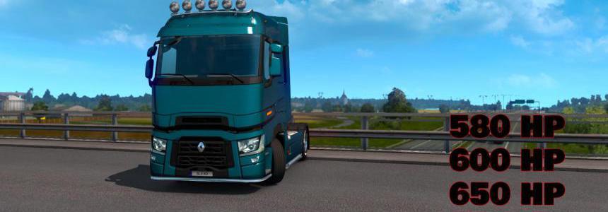 ALEXD Renault Trucks T Range New Engine V1.1