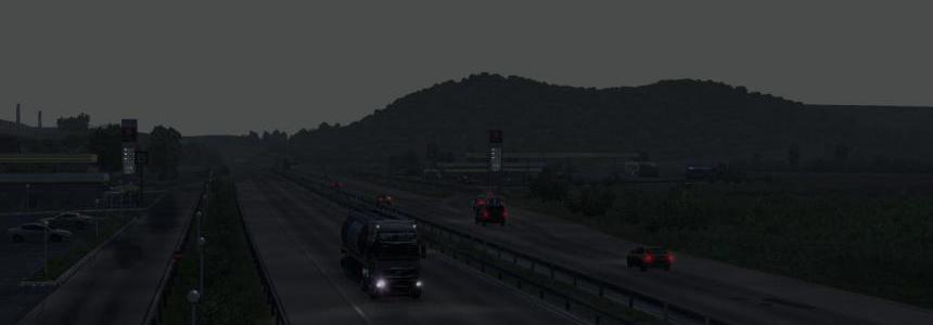 [ATS] Realistic Brutal Weather v1.4